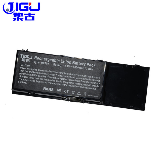 JIGU 9CELLS NEW Laptop Battery 312 0873 C565C KR854 8M039 DW842 For DELL Precision M6400 M6500
