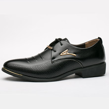 Men Business Oxfords Dress Shoes Pointed Toe Carved Italian Men Formal Shoes Free Drop Shipping Leather Derby Shoes Oxfords стоимость