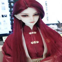 BJD accessories 3bjd clothes china ancient cosplay red color sooms