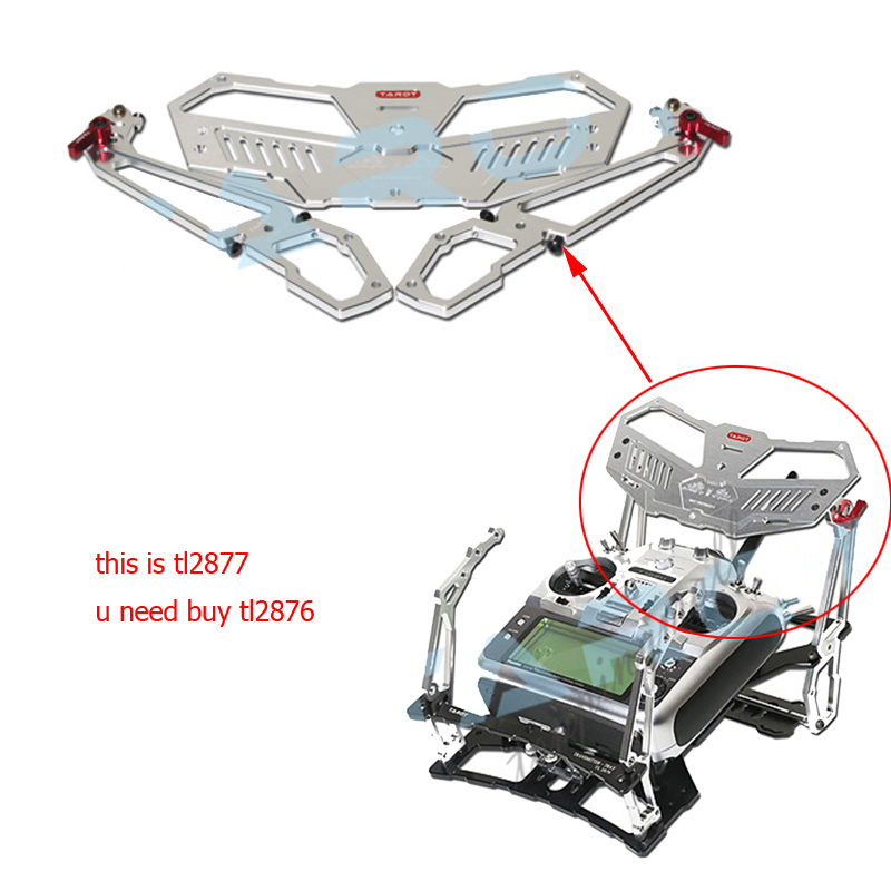 Tarot télécommande transmetteur plateau Tarot TL2877 télécommande plateau de support pour Spektrum JR FUTABA RC Drone FPV 20% OFF