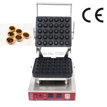 Новый продукт автоматическая 30 штук вафельница пирог формовочная машина, круглые яичный форма для выпечки машины, яйцо тарталетки блинница
