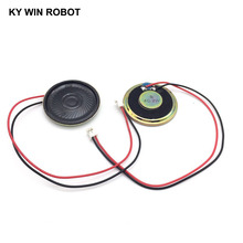 2pcs/lot New Ultra-thin speaker 4 ohms 2 watt 2W 4R Diameter 40MM 4CM thickness 5MM with PH2.0 terminal wire length 20CM