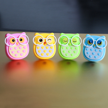 Led Night light Animal Owl Auto Lighting 110V 220V Control Sensor Lamp Child Kids Baby EU US Plug-in Bedroom Indoor Wall Light portable led 0 7w night light control auto sensor baby bedroom lamp white eu plug 100v 240v ha10347