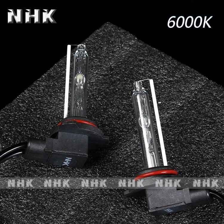 Lampe phare AC 35W h1 hid | kit de 2 ampoules 6000k pour voiture NHK, démarrage rapide, couleur jaune, lumière xénon, style de voiture
