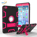 2019 hot kids shockproof dustproof rubber protective cover for Apple iPad Mini 1 2 3 Mini3 Baby Safe Armor Case + Stylus + film