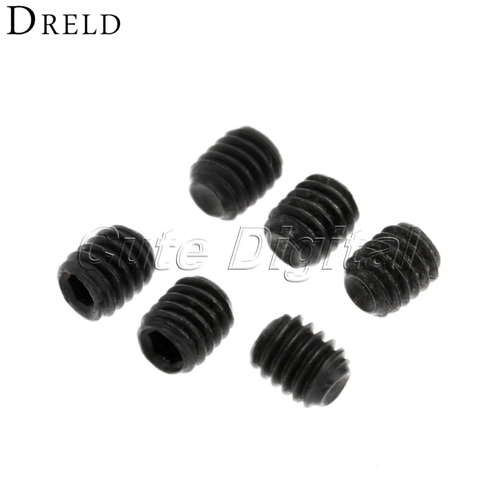 50pcs M2.5 x 3mm Carbon Steel Screws Nut Black Hex Fastener Socket Cap Head Grub Screws Headless Nuts Assortment Kit Wholesale m4 x 12mm alloy steel hex bolt socket head cap screws black 50 pcs