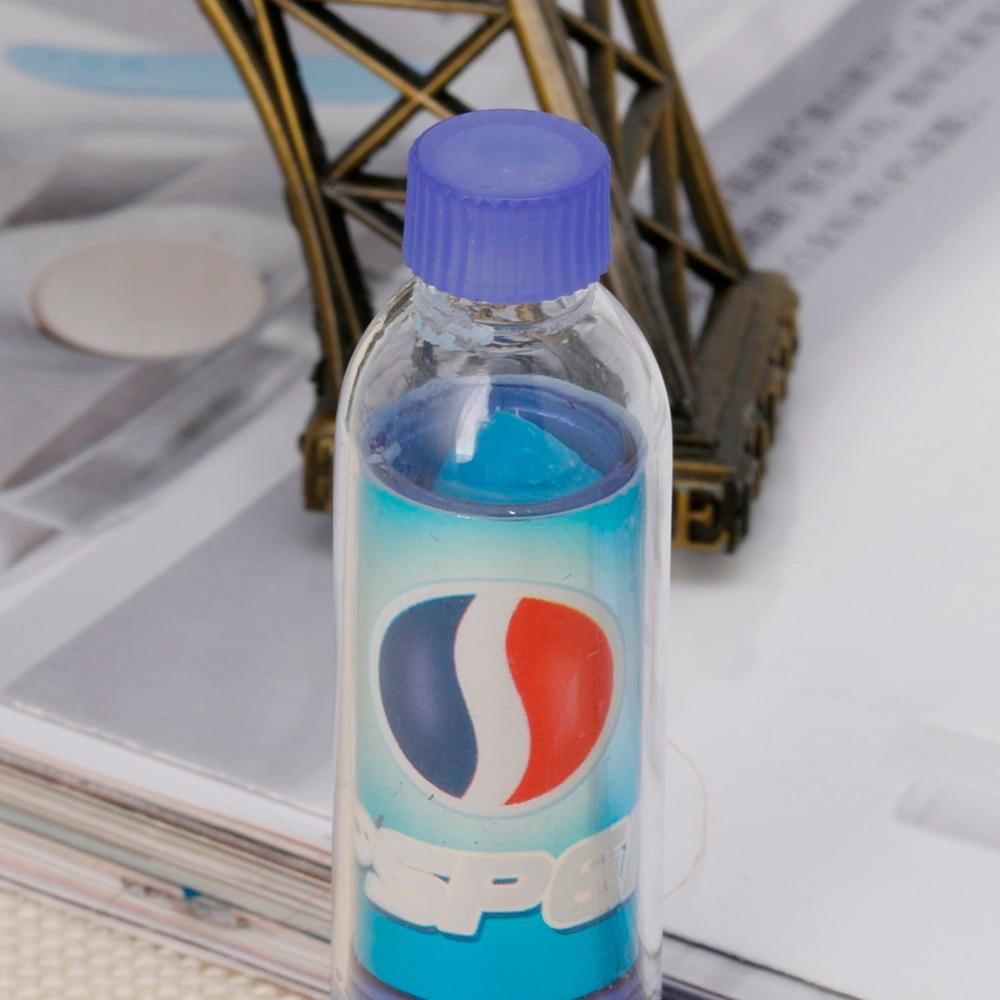 6pcs / Set Rainbow Color Changeable Cute Moisturizer Lip Balm Cola Lipstick Woman Beauty Makeup 5