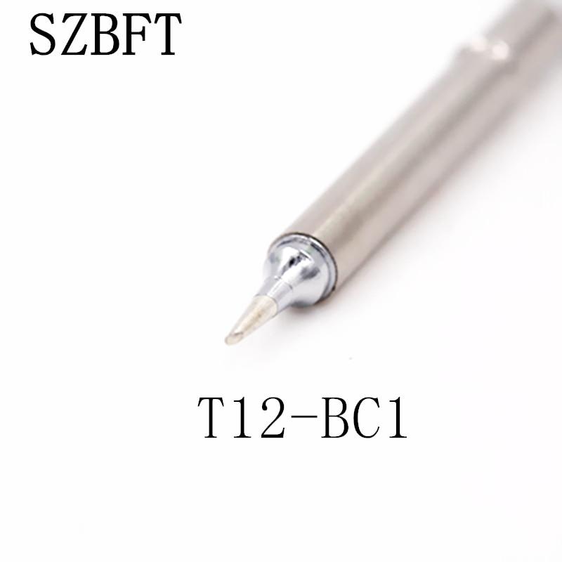 SZBFT T12-BC1 D52 DL32 DL52 I IL ILS نکات آهن برای لحیم کاری ایستگاه تعمیر کار لحیم کاری Hakko برای ایستگاه کار FX-951 FX-952 حمل و نقل رایگان