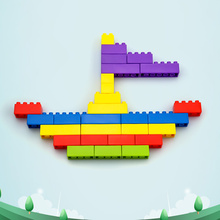 Youwant Toy 90Pcs DIY Educational Brain Toys Creative Toy Building Blocks ABS Material For Children цена 2017