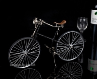 1885 antique nostalgic bicycle model gift fashion gifts decoration collections favorite children's toys