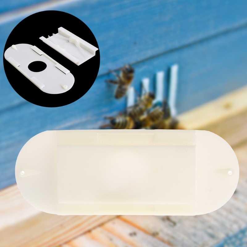 Bee Cage Box Door Anti Escape Beekeeping Beekeeper Porter Plastic Equipment Tool