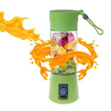 USB Electric Juicer Fruit Juice Mini Portable Outdoor Sports Rechargeable 400ml Home Shake Mixer Baby Food Soybean Milk Maker цена и фото