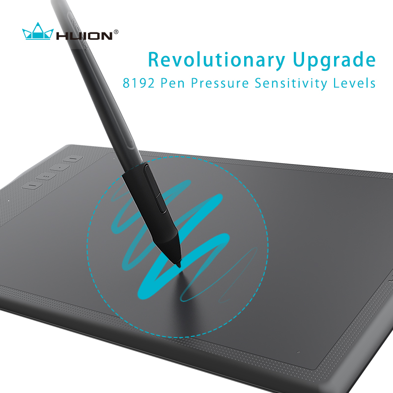 Image 2 - New Huion Inspiroy Q11K Wireless Graphic Drawing Tablet Digital Pen Tablet-in Digital Tablets from Computer & Office