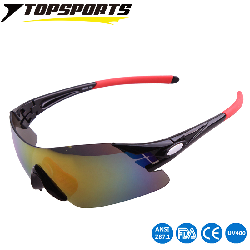 TOPSPORTS Anti-fatigue Sunglasses Men Outdoor Sport Glasses For Driving Fishing Golfing cycling Eyewear PC lens UV400