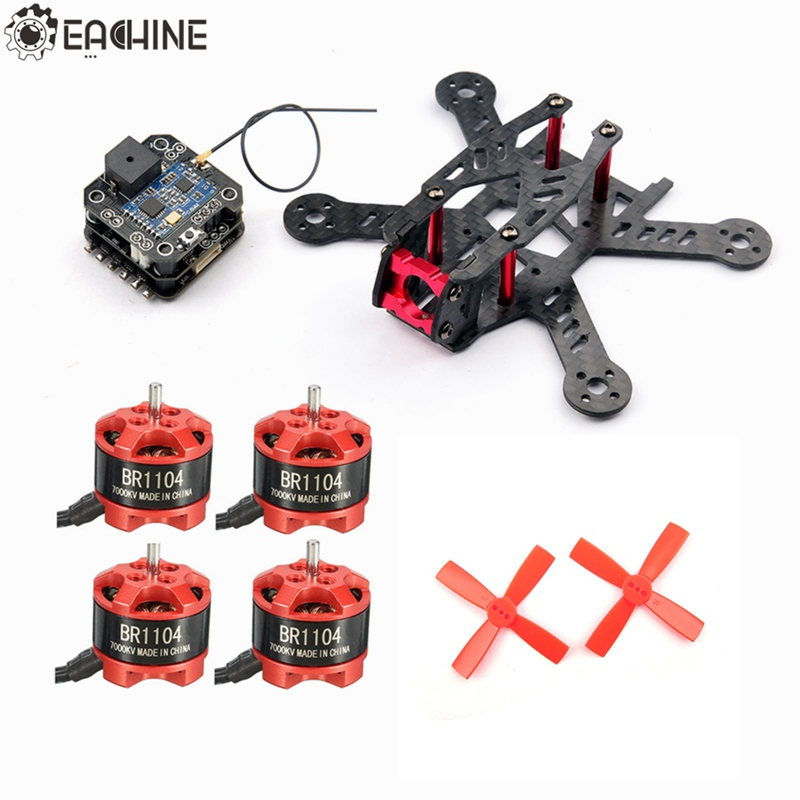New Hot Eachine for Aurora 100 Racing Frame w/ Minicube Compatible Frsky RX F3 Blheli_S 10A BR1104 7000KV Motor For RC Model high quality 5pcs eachine 2 4g receiver original antenna for minicube compatible frsky flysky for dsm2 receiver rc multiopter
