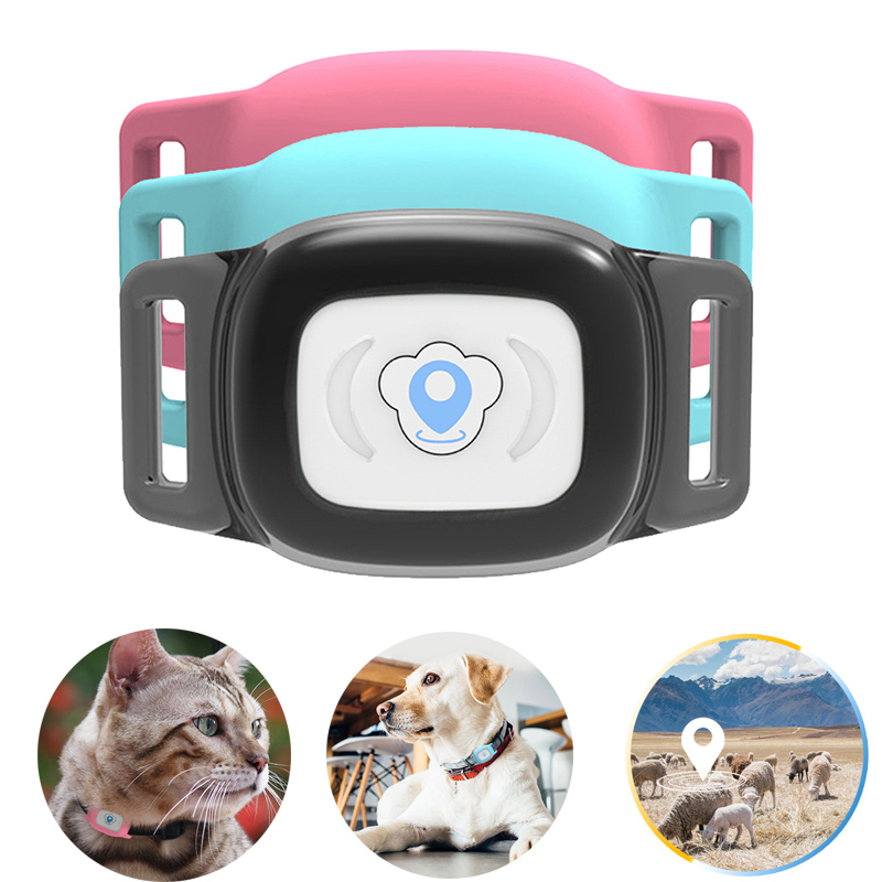 Pet GPS Tracker Collar Mini AGPS LBS Tracking Pet GPS Collar Locator Tracking For Cats Dogs Sheep Animals Tracker For Kids