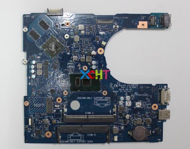 Do Dell Inspiron 14 5468 5468D 0YP25 00YP25 CN 00YP25 BAL60 LA D871P W i5 7200U 216 0864032 płyta główna płyta główna laptopa płyty głównej testowany