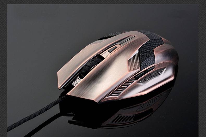 New Product Gaming Optical Mouse Computer USB Wired Gamer Professional Luminous Mice Ergonomic for PC Laptop 3