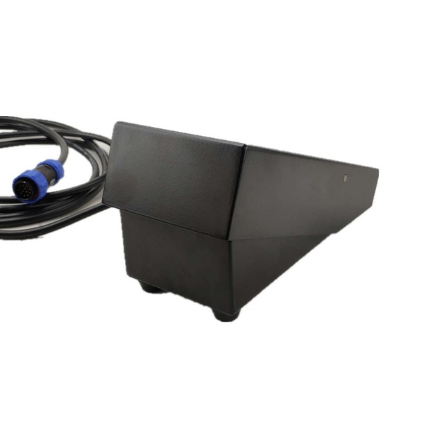 Máquina de soldagem inversor ac dc, inversor de pulso tig controlador de corrente remoto 12pin soquete de ar 3.2m cabo longo de soldagem pé pedal