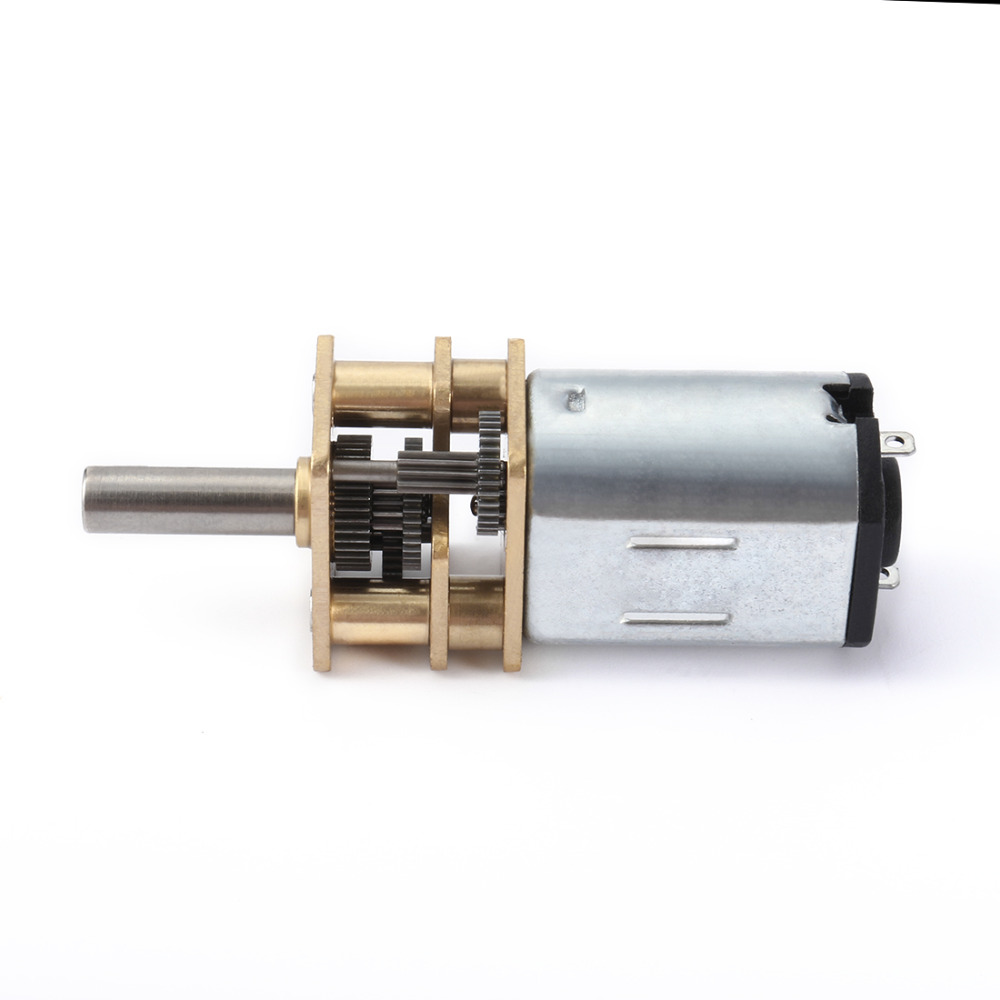 UXCELL(R) 1Pcs 12V 36RPM DC Micro Speed Reduction Motor Mini Gear Box Motor w 2 Terminals for RC Car Robot Model DIY Engine Toy цена 2017