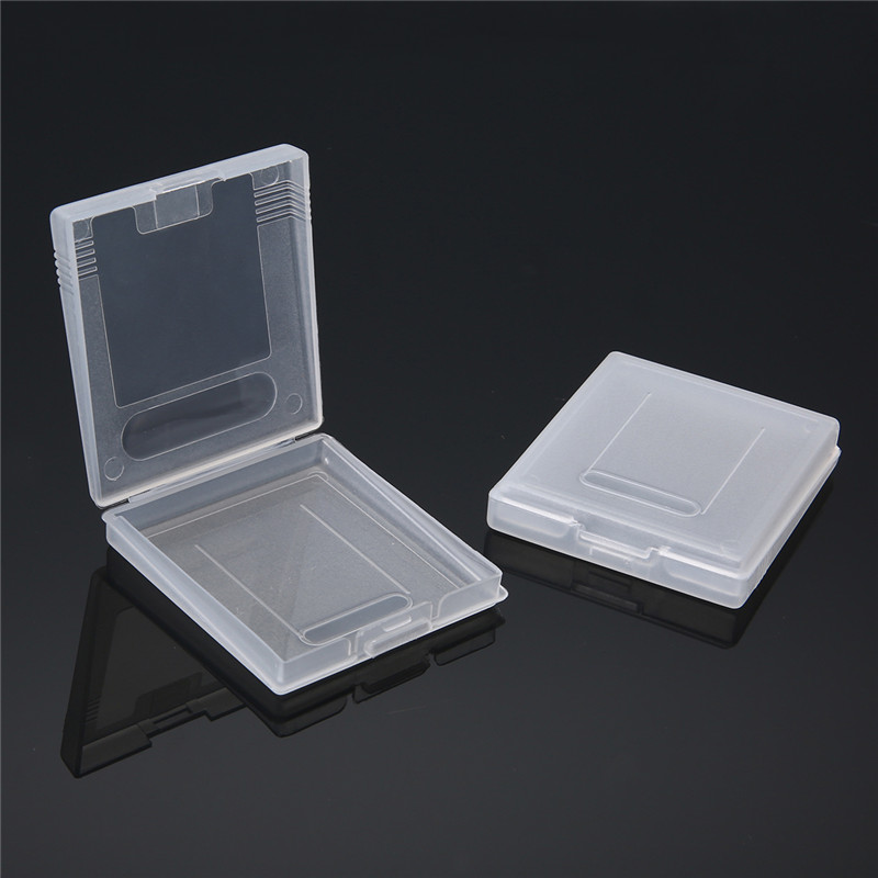 Mayitr 5 PCS Plástico Branco Caso Do Cartão De Jogo de Alta Qualidade Casos Caixas de Cartucho de Jogo para Nintendo Gameboy GBC