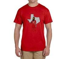 James Harden Rocketman T-Shirt 100% cotton t shirts Mens boyfriend gift T-shirts for fans 0216-21