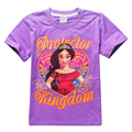New summer Kids cartoon Elena of Avalor cotton short sleeve T-shirts for girls  2-10 years old