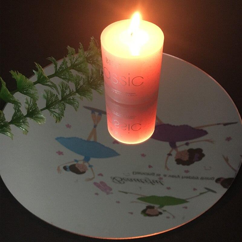 (45 шт./лот) диаметр 300x1 мм акриловые круглые зеркала лист Пластик PMMA Pier Стекло отель свадебные декоративные линзы есть образцы