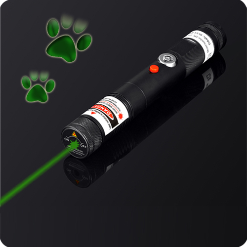 50mW separate crystal 532nm green laser with keys and case