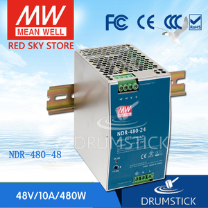 Image 1 - Steady Mean Well NDR 480 48 48V 10A Meanwell NDR 480 48V 480W Single Output Industriële Din Rail Voeding