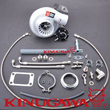 Kinugawa Billet STS Turbocharger TD05H-16G w/ 6cm T3 V-Band Turbine Housing for TOYOTA 1HZ Land Cruiser