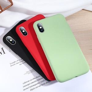Image 3 - Мягкий силиконовый чехол SmartDevil для iphone 7, 8 Plus, X, XS, 11 Pro, Max, защита экрана из закаленного стекла, полностью покрытый чехол в подарок