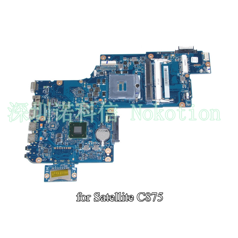H000046310 For toshiba satellite C870 C875 L870 laptop motherboard 17.3 inch HD4000 HM76 warranty 60 days