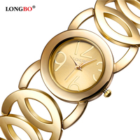 LONGBO Brand Fashion Luxury Women Watches Leisure Style Ladies Waterproof Quartz Charms Bracelets Analog Wristwatches 80222