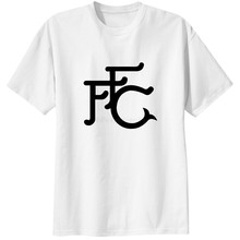 0a2d290ee Fulham club fc T-Shirts Men Tees Tops The Cottagers fans Retro F F C T  Shirts Casual
