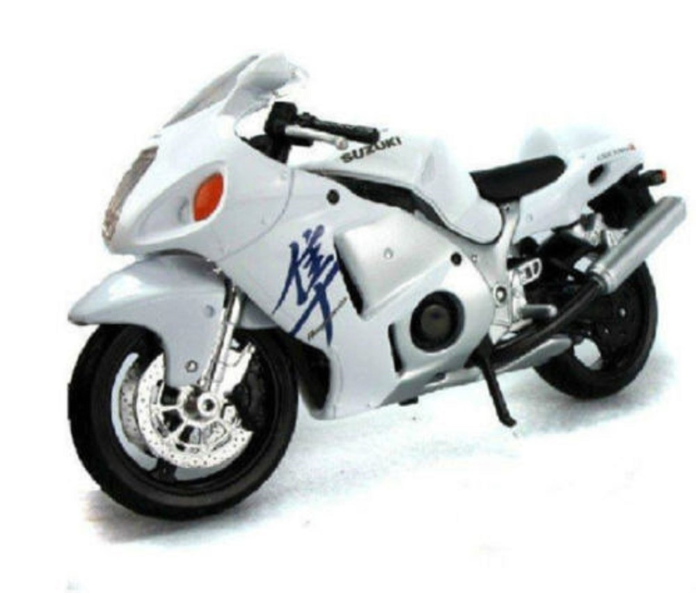 Maisto 1:12 31103 Suzuki GSX 1300R MOTORCYCLE BIKE Model FREE SHIPPING