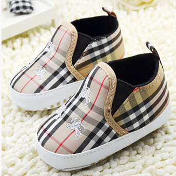 US $10 8 |baby toddler shoes casual shoes slip on soft bottom antiskid  function 0 and 1 year old baby shoes baby boom in the autumn-in First  Walkers