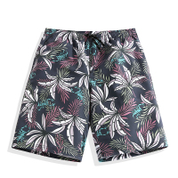 Summer Quick drying Beach Trousers Five Points Pant Men's Loose Seaside Short Surf Trousers Swimming Trunks