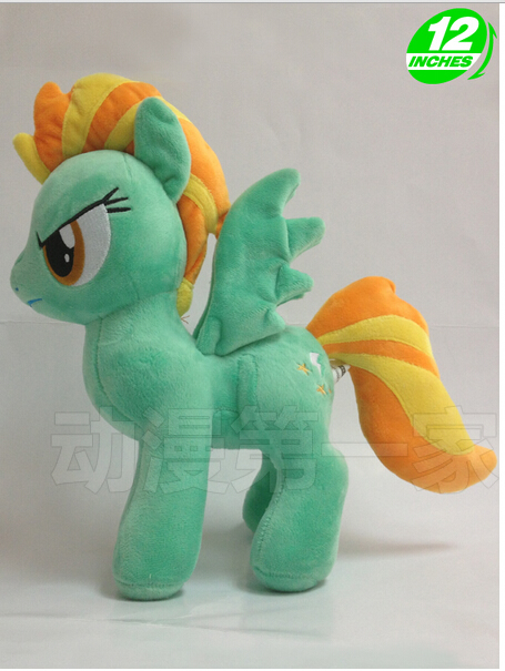 1PCS limited edition 32CM 288g little pet horse Lightning Dust cotton plush doll toys for cute gifts and kids plush ocean creatures plush penguin doll cute stuffed sea simulative toys for soft baby kids birthdays gifts 32cm