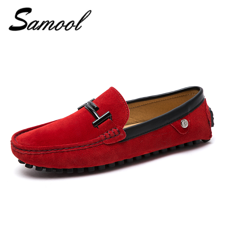 2018 high quality Men Casual shoes Suede Leather Driving Moccasins Slip on Shoes Men Comfortable breathable dress shoes men xxz5 mapleliz brand breathable slip on solid moccasins shoes for men full grain leather high quality driving soft flat men shoes