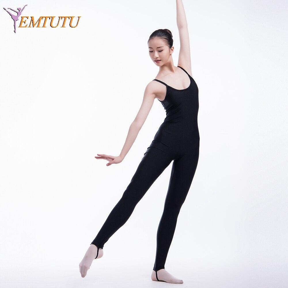 Women Lycra Ballet Unitard Leotard Spaghetti Adult