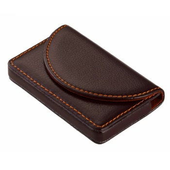 Wholesale New Card Holder For Women Card Id Holders Fashion Metal Aluminum Business Credit Card Case PU Leather Bank Card Holder 1