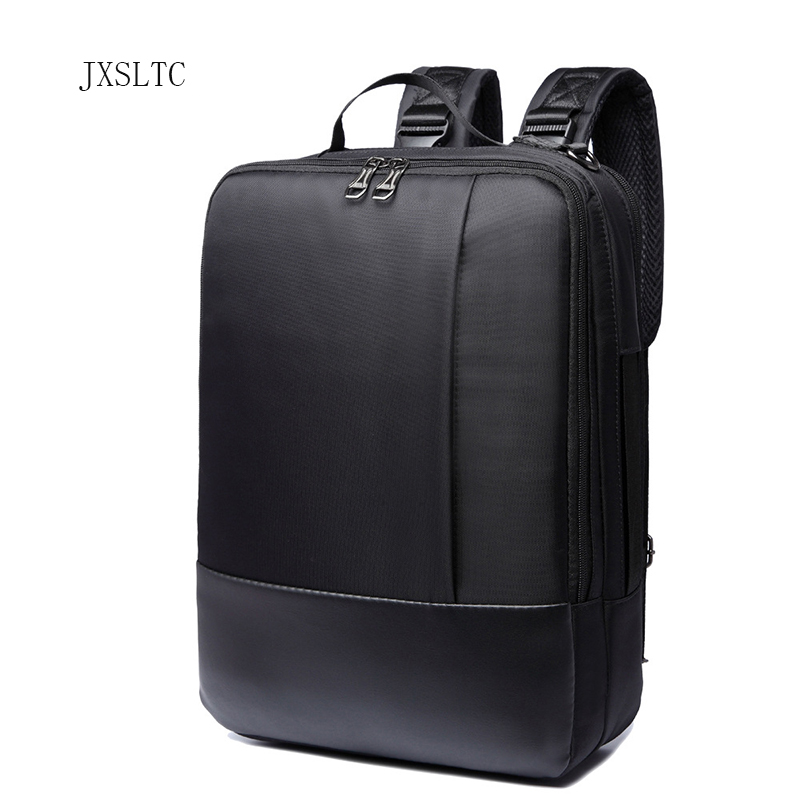JXSLTC 2018 Brand 16 Inch Business Laptop Bag Backpack Men Large Capacity Nylon Compact Men's Backpacks Unisex Women Bagpack 2017 xqxa brand 15 6 inch laptop bag backpack men large capacity oxford compact men s 17inch backpacks unisex women bagpack