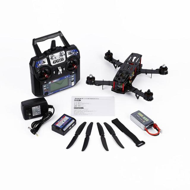 Горячие продажи Углеродных Волокон Мини 250 Quadcopter Рама Двигателя Управления Полетом Доска Очень Здорово