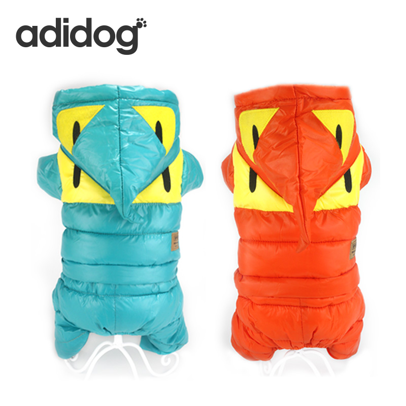 2018 New Fashion four eyes monster Winter Pet Dog Clothes Clothing For Pet Small Large Dog Coats Jackets for chihuahua XL adidog