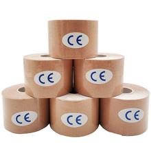 8 Color 5cm X 5m 6 Rolls/set Sports Kinesiology Elbow Pads Muscle Sticker Tape Cotton Elastic Adhesive Bandage Care Q