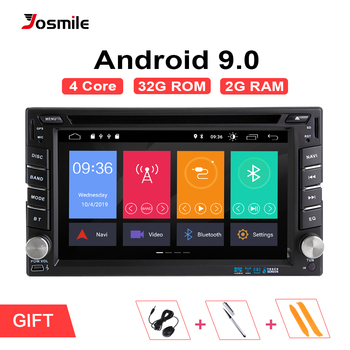 AutoRadio 2 din Android 9,0, unidad principal de coche para Nissan Note Qashqai Xtrail Almera 3, grabadora de cinta de Audio Multimedia, navegación GPS
