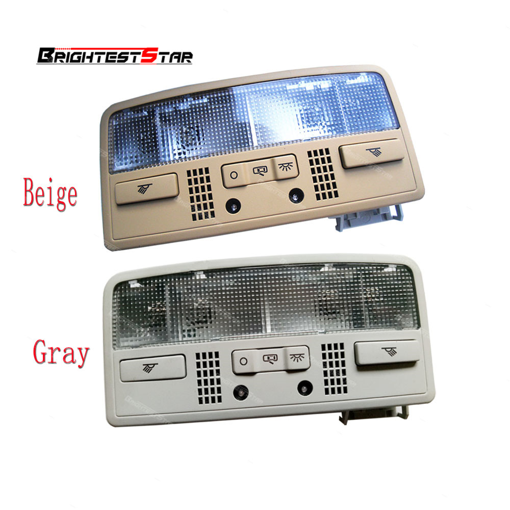 3BD947105 Gery Beige Color For VW Passat B5 for Skoda Octavia Combi Interior Dome Light Reading Lamp 3BD 947 105 2EN 7R3 in Car Switches Relays from Automobiles Motorcycles