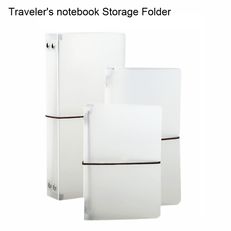 Traveler's Notebook Folder For Midori Planner Refill Inner Page Filler Papers Storage Folder Office & School Supplies Stationery