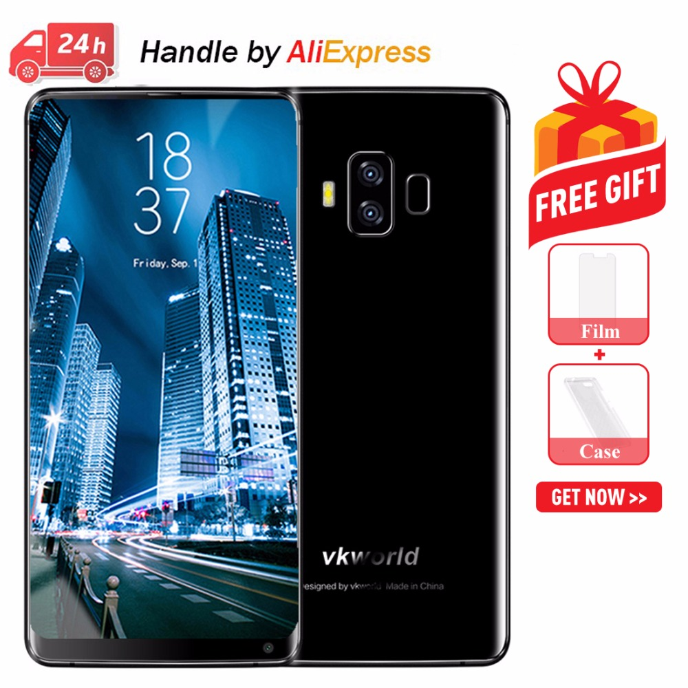 Original VKworld S8 4G Mobile Phones Android 7 0 4GB 64GB Octa Core Smartphone Dual Back